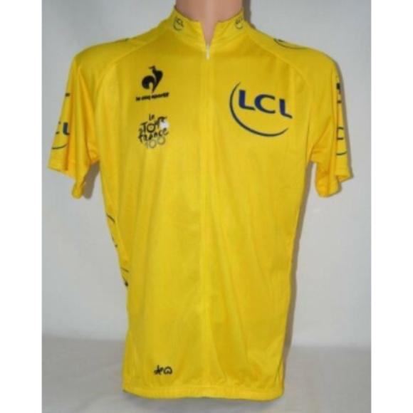 Le Coq Sportif Le Tour de France Cycling Jersey XL 84d400f89